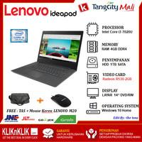LENOVO IDEAPAD 330-14IKB BLACK - INTEL i3-7020U 4GB 1TB R530 DVD W10
