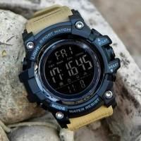 Jam tangan pria SKEMEI 1384 original pria SKMEI digital LED terbaru