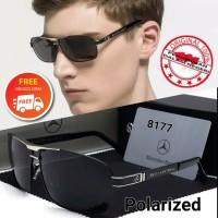 frame Kacamata pria polarized Original Mercedes Benz 277 sunglasses