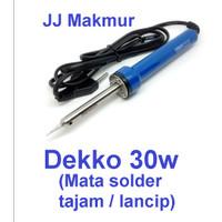 Solder Dekko Handphone HP 30w Soldering Timah Iron Deko 30 watt DCS30