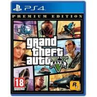 GTA V Game PS4 Premium Online Edition