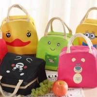 Tas Bekal Lunch Cooler Aluminium Bag Box Kotak Makan Anak Karakter 2