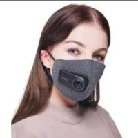 Masker Xiaomi Purely Air Mask N95 PM2.5 Filter Fan Kipas 550mAh