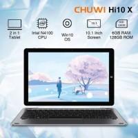 Paket TabletPC Chuwi Hi10 X 6/128GB + Docking Keyboard Magnetic ORI