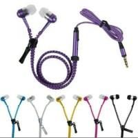 Handsfree / Headset Zipper Resleting / Earphone Ziper EXTRA BASS + MIC