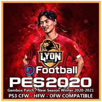 PES 2020 Gembox Patch PS3 - New Season Winter 2020-2021