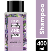 LOVE BEAUTY & PLANET Argan Oil & Lavender Shampoo [400 mL]
