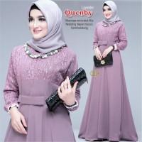 Baju gamis pesta modern seragam gamis terbaru dress muslim