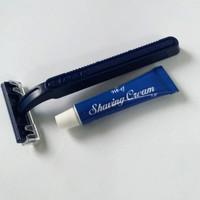 shaving kit murah/ paket alat cukur hotel murah