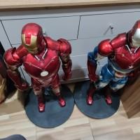 Iron Man Statue Scale 1/2 / bukan sideshow / bukan prime1
