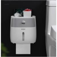 Ecoco Kotak Tisu Toilet / Tempat Tisu Toilet / Rak Tisu Toilet