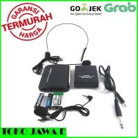 SONY SN 28 Mic Wireless CLIP ON + Headset ( BANDO ) SUARA YG MANTAP