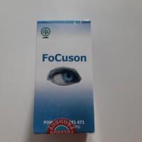 FOCUSON ~ obat mata minus plus silinder dan katarak focuson asli