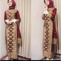 Dress batik songket
