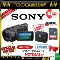 Sony FDR-AX53 4K Ultra HD Handycam Camcorder FREE TAS