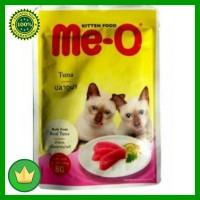 Cp Petfood Me-o Kitten Makanan Kucing Tuna & Sarden 2pcs 80gr