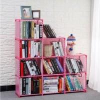 Lemari & Kabinet -) Tokomuda Rak Buku 3 sisi Book Shelf Tempat Storage