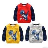 Promo Children Kids Stylish Sweater Autumn Baby Boy Girl Cartoon