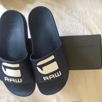 Sandal pria G Star Raw original new biru navy