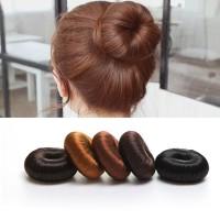 Terbaik Ikat Rambut Sanggul Donut Aneka Warna untuk Wanita