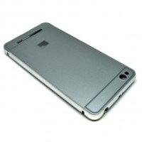 Aluminium Bumper Case with Arcylic Back for Xiaomi Redmi 3 - Silver