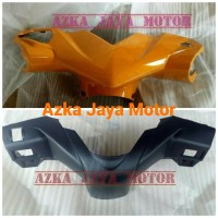 Batok Pala Depan Belakang Honda Beat Karbu Warna Orange