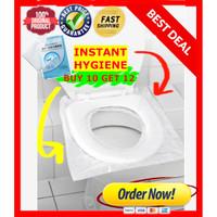 WATERPROOF Disposable paper Toilet Seat Cover - Alas Dudukan Toilet