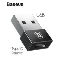 Baseus Adapter Converter USB Male to Type-C Female 2.4A