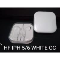 Headset Earphone Iphone 5 6 Original Cina White