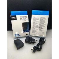Travel Charger SONY EP800 X10 Mini Colokan Micro USB Original