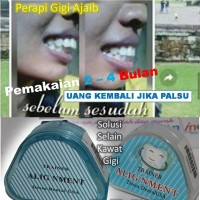 Retrainer Orthodontic Behel Karet Ajaib Alat Perapih Gigi Premium