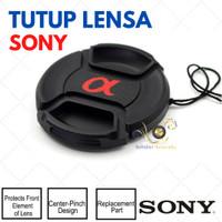 Tutup Lensa Sony Alpha Ukuran 40.5mm