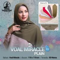Hijab jilbab kerudung voal miracle waterproof polos by umama Scraf