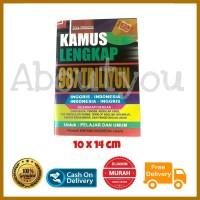 Buku KAMUS asli bahasa INGGRIS INDONESIA lengkap murah