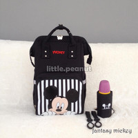 DIAPER BAG MICKEY MOUSE ORIGINAL DISNEY FANTASY SERIES MULTIFUNGSI