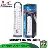 Lampu Emergency 18 LED + 5Watt + Senter 1Watt Mitsuyama MS-6032