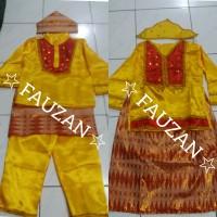 Baju adat bangka belitung SD // pakaian bangka belitung M LK / Cwe - CEWE