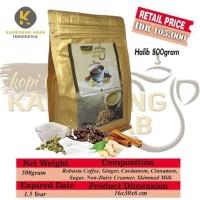 Kopi Kampoong Arab SUSU Halib 500gr 500 gr Tanpa Gula Robusta Arabica