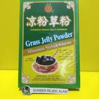 Guilinggao Powder (Chinese Grass Jelly Powder) Minuman Serbuk Cincau