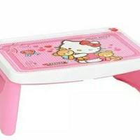 Meja Lipat Belajar Lesehan Anak Karakter anak perempuan kity pink