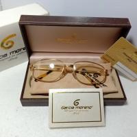 kacamata vintage garcia moreno 18K solid gold made italy
