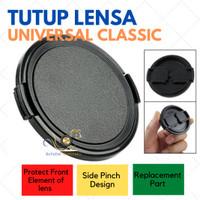 Tutup Lensa Universal Model Klasik ukuran 39mm