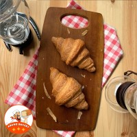 Supplier Cafe| Croissant Butter Besar PREMIUM|Croisant Plain Roti 80gr