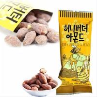 HONEY BUTTER ALMOND 30 GRAM KACANG ALMOND MADU KOREA RESMI ORIGINAL