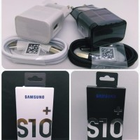 Charger Samsung Original Fast Charging Type C S8 S9 S10 Casan-Hitam