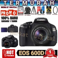 CANON 600D KIT 18-55MM IS II GARANSI DISTRIBUTOR / 700D 1300D 1200D