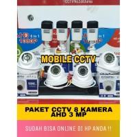 Promo Bulan ini /Paket CCTV 8 Kamera 3MP Full HD Lengkap Hardisk 1TB