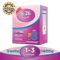 S26 procal tahap 3 vanilla box 1400gr/ 1400 gr