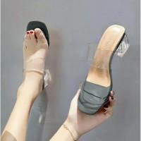 Sepatu sandal sendal hak tahu big high heels ip 01