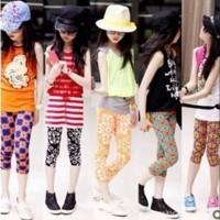 Celana Legging Anak Motif Corak Size L /Leging Celana Anak & Balita